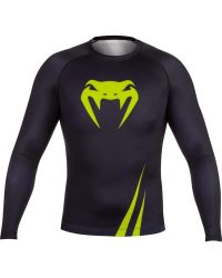 RASHGUARD VENUM CHALLENGER YELLOW LONG