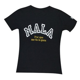 "CAMISETA CHARLIE ""MALA"""