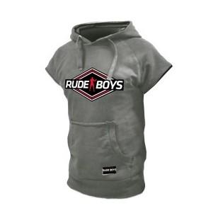 SUDADERA SIN MANGAS RUDE BOYS GRIS