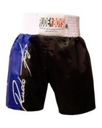 SHORT DE BOXEO RUDE BOYS AZUL