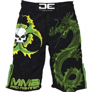 SHORT MMA DANGER 03 VERDE