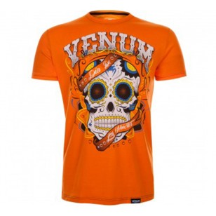 CAMISETA VENUM SANTA MUERTE ORANGE
