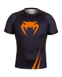 RASHGUARD VENUM CHALLENGER ORANGE SHORT