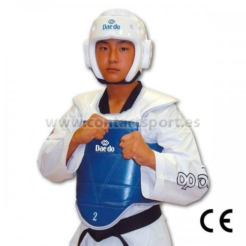 inteligencia Fracción mezcla  Peto taekwondo Daedo