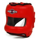 CASCO BARRA ALUMINIO RUDE BOYS ROJO