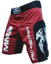 SHORT MMA DANGER 05 ROJO