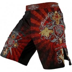 SHORT MMA BUDDHA HERALDIC CROSS
