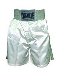 SHORT BOXEO CHARLIE BLANCO