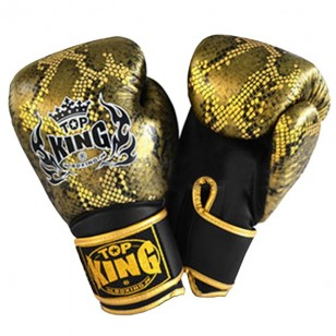 "GUANTE TOP KING ""SNAKE"" BLACK"