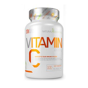 VITAMINA C STARLABS 100 TABLS