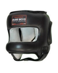 CASCO BARRA ALUMINIO RUDE BOYS NEGRO
