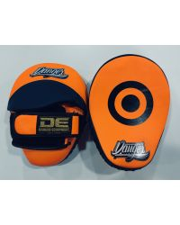 MANOPLA CURVA DANGER EQUIPMENT NARANJA