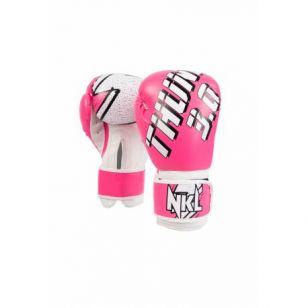 """GUANTE BOXEO NKL """"THUNDER 3.0"""" NEGRO"""
